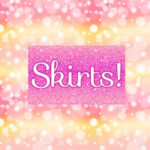 Skirts! 🚫DO NOT SHARE THIS BANNER🚫